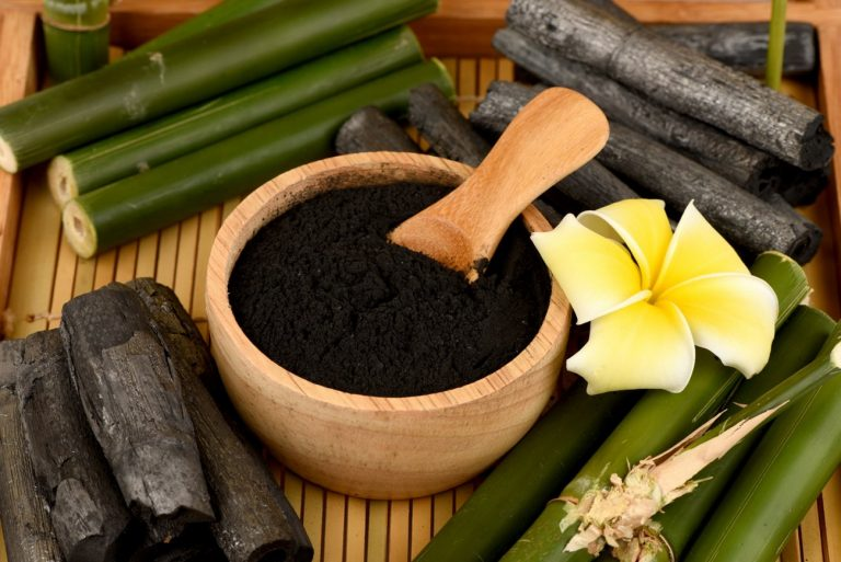 activated charcoal in beauty products