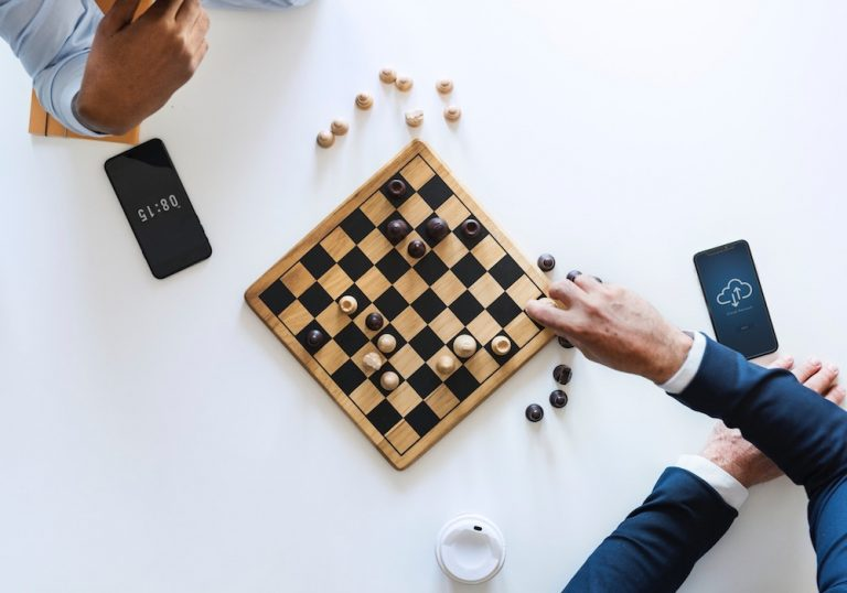 business strategy - chess competition