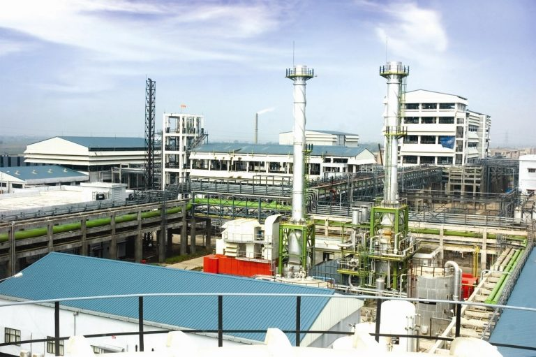 industrial chemical manufacture