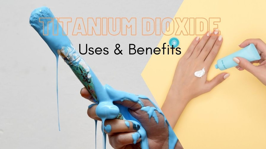 titanium dioxide in paint industry and as sunscreen