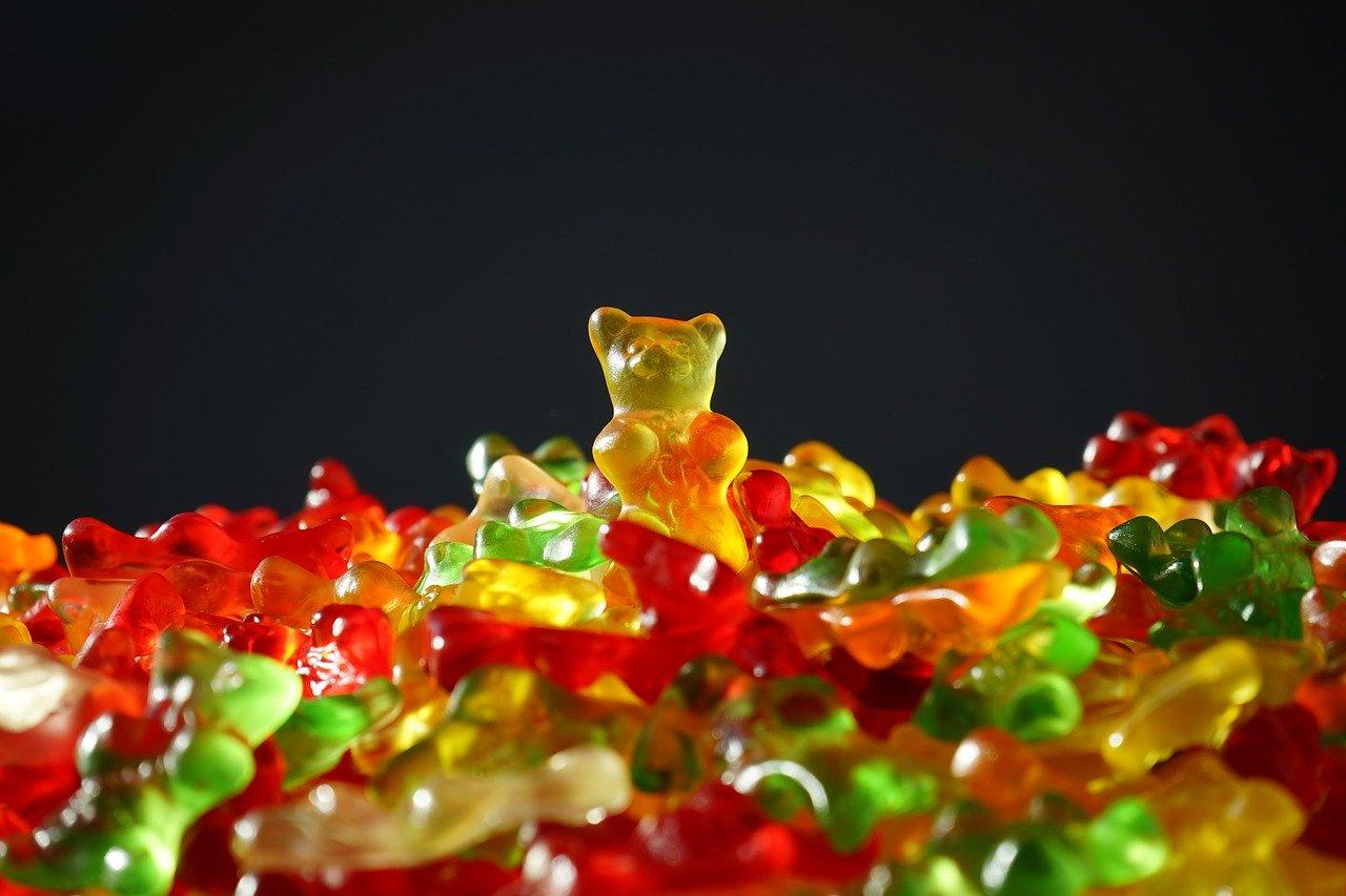 gelatin gummy bear
