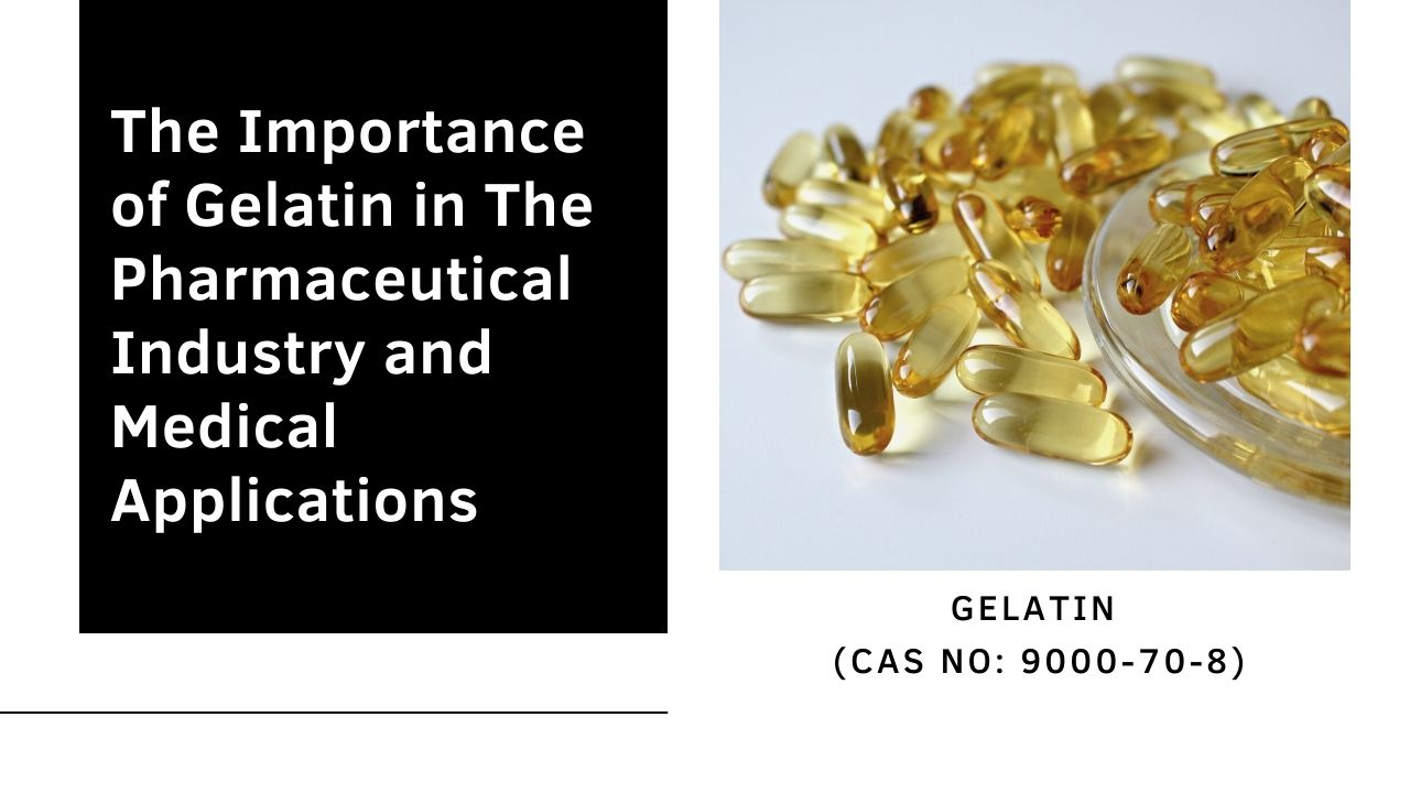 The Importance of Gelatin in The Pharmaceutical Industry and Medical Applications
